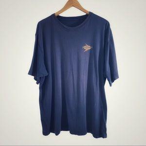 TOMMY BAHAMA Men's blue Sand Bar T-Shirt